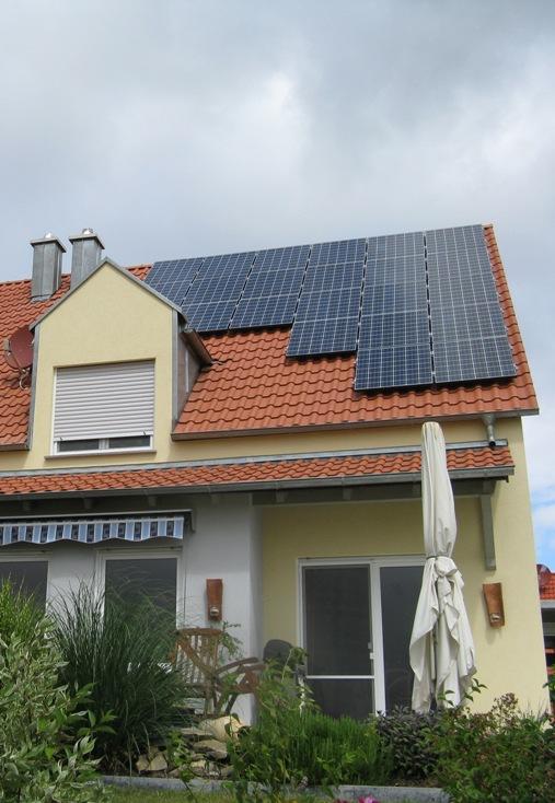 4,32 kWp Kyocera KD180GH-2P Solar in Würzburg