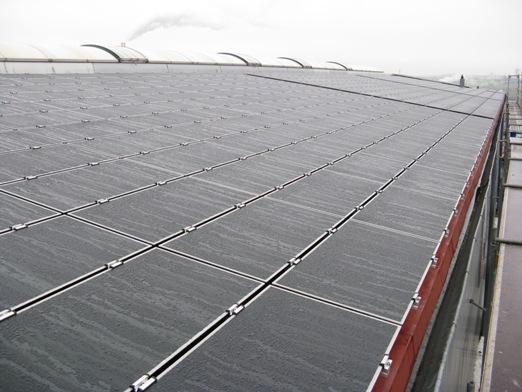 First Solar Dünnschicht PV-Anlage in Würzburg