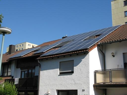 7,35 kWp Aleo S03 Spitzenertrag in Unterfranken dank Sonnenwatt