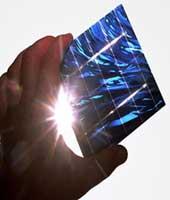 Wafer-Solarzelle