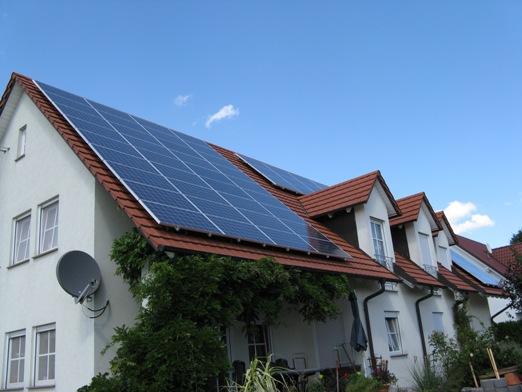 13,32 kWp Mitsubishi Solarstrom-Anlage in Mainfranken